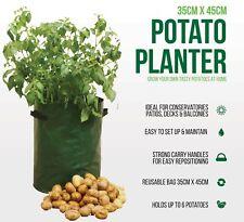 Potato Tomato Bag Planter Grow Your Own Sack Spuds Tub Patio Potatoes Garden