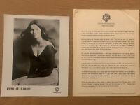 Emmylou Harris 1978 Original Warner Bros. Records 3 Page Biography & Press Photo