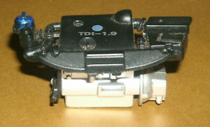 1/18 Scale Car Engine Block from 1998 VW Beetle Plastic 1.9 TDI Diesel I4 Motor