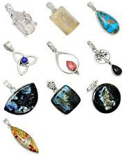 10 pcs Mixed Wholesale 925 Sterling Silver Pendants Jewelry XGP49