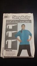 VINTAGE SIMPLICITY LADIES 1988 ELEMENTS TOP PATTERN 8724 FREE SHIPPING