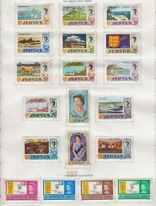 D1250: Early Jersey Mint Stamp Collection; CV $80