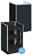"New Retails Metal Framed Black Well Top Register Stand 38""H x 20""D x 24""L"
