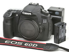 CANON EOS 60D 18mp, 1080hd APS-C DSLR Camera Body, Very Clean *SHIPS FREE*