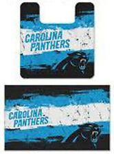 NFL Carolina Panthers, 2pc Bathroom Rug Set, NEW