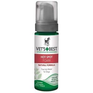 Vet's Best Natural Hot Spot Foam For Dogs 4oz