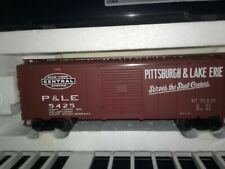 ATLAS TRAINMAN #5030-1 PITTSBURGH & LAKE ERIE 40' SLIDING DOOR BOXCAR