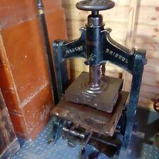 More details for vintage antique hot foil stamping press