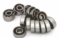 16 inline/Rollerblade/Skate Bearing Chrome Steel Open Ball bearing with Nylon Ca
