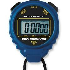 Accusplit A601Xbu Pro Survivor Stopwatch with Blue Case