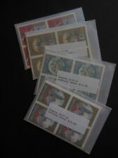 RUSSIA : 1977-80. Scott #B107-136. 10 Complete sets. Catalog $600.00.