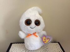 """Ty Beanie Boo GHOSTY the Ghost-Recalled Solid Eye Version6"""" MWCT"""