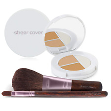 Sheer Cover – Flawless Face Kit – Perfect Shade Mineral Foundation – Conceal & B