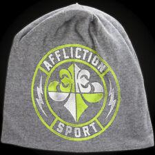 Affliction Geo Sport Beanie Light Grey