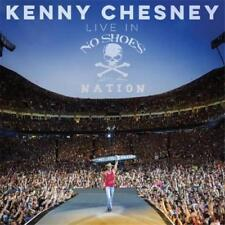 KENNY CHESNEY Live In No Shoes Nation 2CD BRAND NEW Digipak