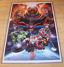 DC Comics Justice League Art Print 11X17 Poster Wonder Woman