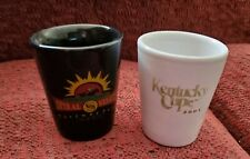 TURFWAY PARK - 01 KY CUP AND SPIRAL STAKES SHOT GLASSES + INDIANA DOWNS SGLASS