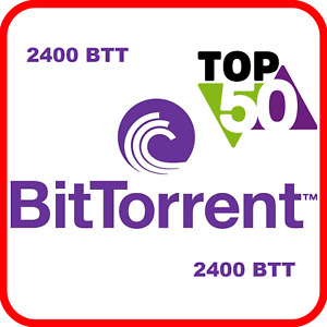 2400 BitTorrent (BTT) CRYPTO MINING-CONTRACT (2400 BTT ), Crypto Currency