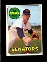 1969 TOPPS #106 JIM HANNAN EX SENATORS  *XR17890
