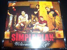 Simple Plan Welcome To My Life Australian CD Single – Like New