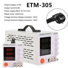 Regelbar Digital Labornetzgerät Trafo DC-Netzteil 0-30V 0-5A Power Supply qx
