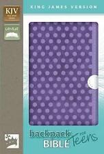 KJV, Backpack Bible for Teens, Imitation Leather, Purple by Zondervan...