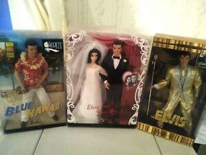 Collectible Elvis Presley Dolls Mattel Original Boxes Assorted Selection