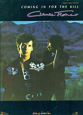 """CLIMIE FISHER """"COMING IN FOR THE KILL"""" PIANO/VOCAL/GUITAR MUSIC BOOK NEW ON SALE"""