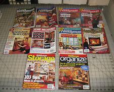 10 HANDYMAN DIY ORGANIZE Magazines Lot - Scattered Dates