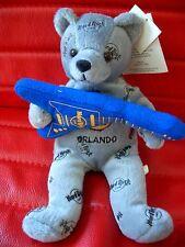 HRC Hard Rock Cafe Orlando Rocker Bear Guitar Beara Bär Teddy Herrington LE