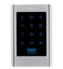 Metal Case 125KHz RFID Standalone Access Control Keypad With Touch Keyboard