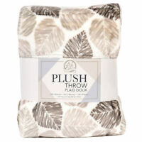 Life Comfort Plush Throw in 5 Colours (152 x 177 cm)**FREE DELIVERY**