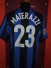 MATERAZZI INTER 2004/2005 MAGLIA SHIRT CALCIO FOOTBALL MAILLOT JERSEY SOCCER