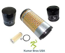 New Kubota Filter KIT AIR/FUEL/OIL/HST B7300