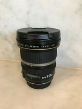 Canon EF-S 10-22mm f/3.5-4.5 USM wide angle camera Lens - great condition