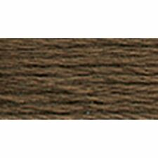DMC 117-839 6-Strand Embroidery Cotton Floss, Dark Beige Brown, 8.7-Yard