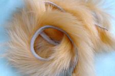 3x BANDE de LAPIN PECHE montage mouche peach peau conejo piel pelz kaninchen