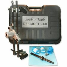 Souber Mortice Lock & Hinge Jig 1 DBB Standard + Offset Attachment + 3 Cutter