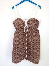 BNWT ROXY LADIES MAGIC MOMENT DRESS (BROWN) SIZE 12 RRP $69.95 LAST ONE