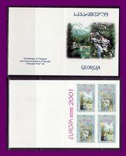TEMA EUROPA 2001 GEORGIA CARNET  EL AGUA