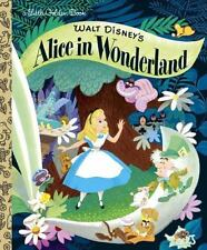 Walt Disney's Alice in Wonderland Hardcover a Little Golden Book Kids Story