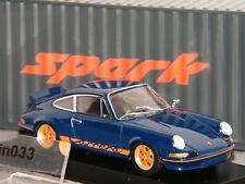 PORSCHE 911 CARRERA RS 1973 SPARK 1/43 Ref SDC001