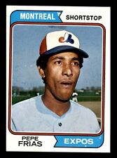 1974 Topps #468 PEPE FRIAS      NEAR MINT *1e