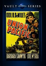 Union Pacific 1939 (DVD) Barbara Stanwyck, Joel McCrea, Akim Tamiroff - New!