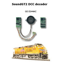 GEVO-12 Diesel SoundGT2 DCC decoder for GE ES44AC MTH, Athearn Genesis, other