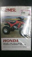 New Clymer Honda Service Manual TRX250X 1987-92 & TRX300EX 1993-06 M456-4