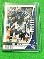 TOM BRADY CARD JERSEY #12 NEW ENGLAND PATRIOTS 2019 Absolute Football