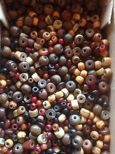 50g pack of assorted small Horn Beads - 3mm to 10mm - approx 200 beads