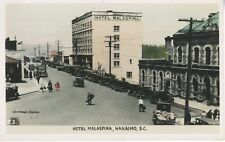 Hotel Malaspina, Nanaimo BC British Columbia Real Photo Postcard RPPC