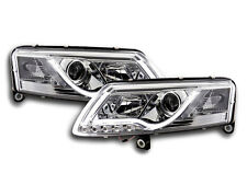 Audi A6 C6 /4F 2004-2008 Chrome LED DRL Daylight Running Headlights RHD FREE P&P